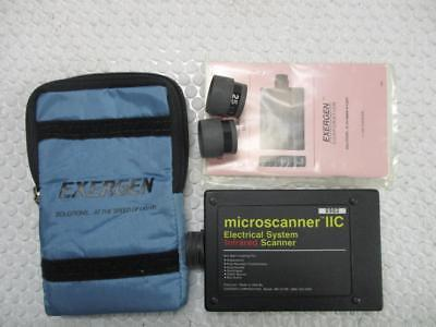 Exergen Microscanner Iic Electrical System Infrared Scanner 0920