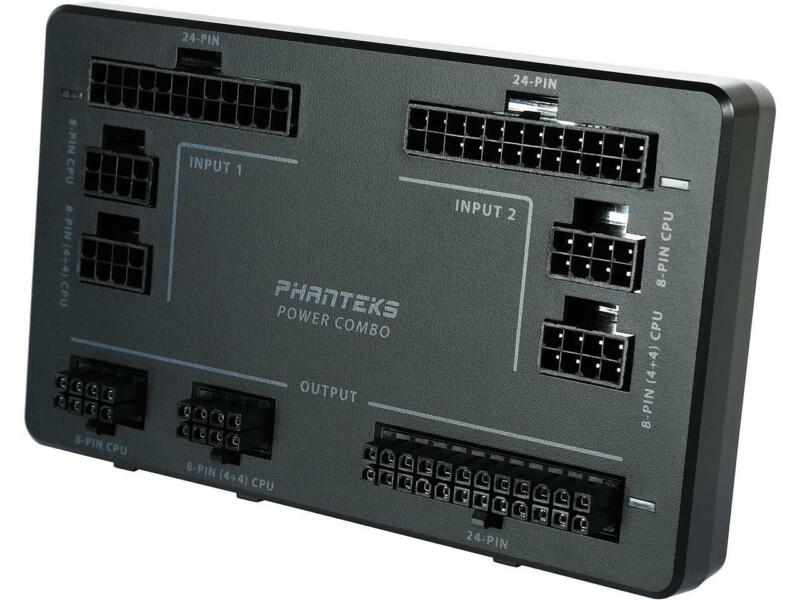 Phanteks Power Combo Device for 2 PSU combine to 1 M/B with Power Redundant Func