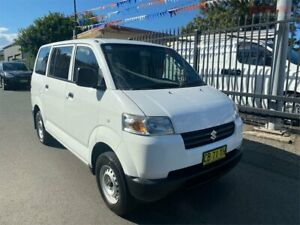 2014 Suzuki APV GD MY06 Upgrade White 5 Speed Manual Van Waratah Newcastle Area Preview