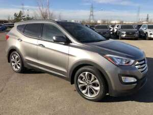 2016 Hyundai Santa Fe Sport Limited 2.0T- AWD, Turbo, Back Up Ca