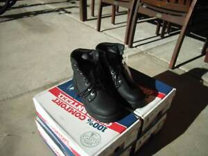 STEEL BLUE MENS WORK BOOTS X 4 PAIRS ($200.00 THE LOT) Jimboomba Logan Area Preview