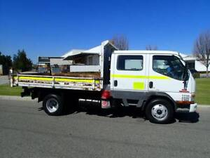 Mitsubishi Canter Dual-cab 2 way Tipper 3 Tonne Welshpool Canning Area Preview