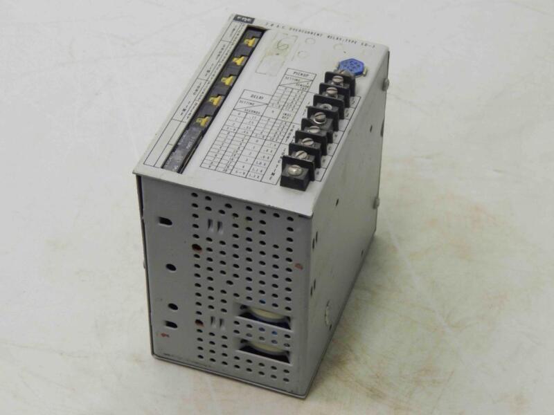 #176 FPE 30 AC Overcurrent Relay Type SD-3