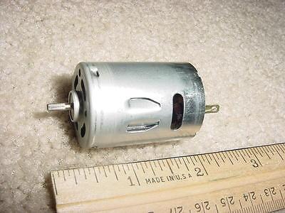 Small Dc Electric Motor 12- 24vdc 4000 Rpm 34 G-cm M50
