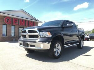 2016 RAM 1500 SLT Crew 4x4 DVD Lifted 6 Month Powertrain Include