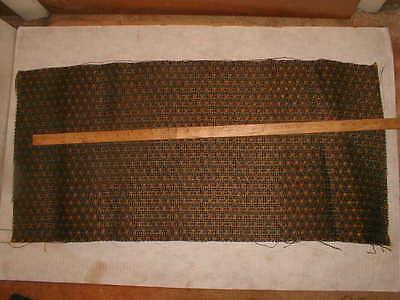 "16X34"" Vintage Antique Speaker Grille Cloth Fabric,Radio,Organ Restoration 2 PCS"