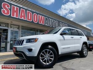 2016 Jeep Grand Cherokee LIMITED -4WD -3.6L -6CYL *LOADED*