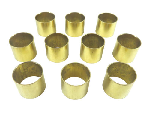 "Robert Sorby Set of 10 22mm / 7/8"" Solid Brass Ferrules for Lathe Tool HF22B x10"