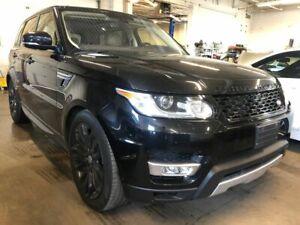 2016 Land Rover Range Rover Sport DIESEL, NAVI, 360 CAMERA, PANO