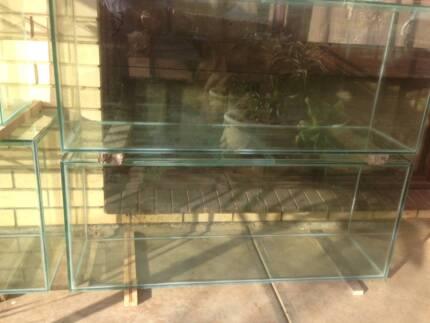 AQUARIUM FISH TANK made with GLASS 3ft