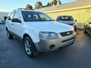 2009 Ford Territory SY MY07 Upgrade TX (RWD) 4 Speed Auto Seq Sportshift Wagon Canley Vale Fairfield Area Preview