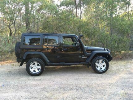 Jeep Wrangler Unlimited 2012 Petrol