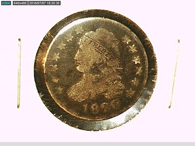 1820 CAPPED BUST DIME G