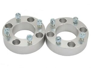 3-2-x-1-5-inch-ATV-Wheel-Spacers-Yamaha-Raptor-YFZ-Banshee-FRONT-4x156-4-156