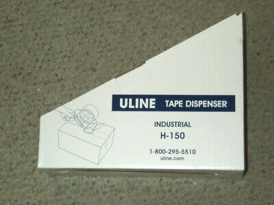 New Uline H-150 Packing Tape Dispenser 2 Two Inch Hand Held