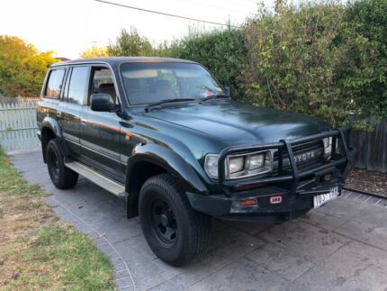 1994 TOYOTA LANDCRUISER LPG 7 SEATER AUTO 4WD WAGON Glen Waverley Monash Area Preview