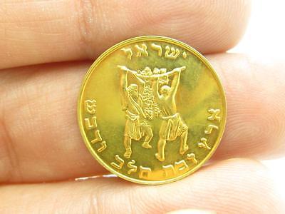 Israel Land Of Milk & Honey Moses Schöne .999 Gold Vintage Selten Bullion Münze ()