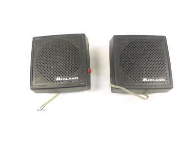 Lot 2 Midland 70-2355 Land Mobile Radio Extension Speaker