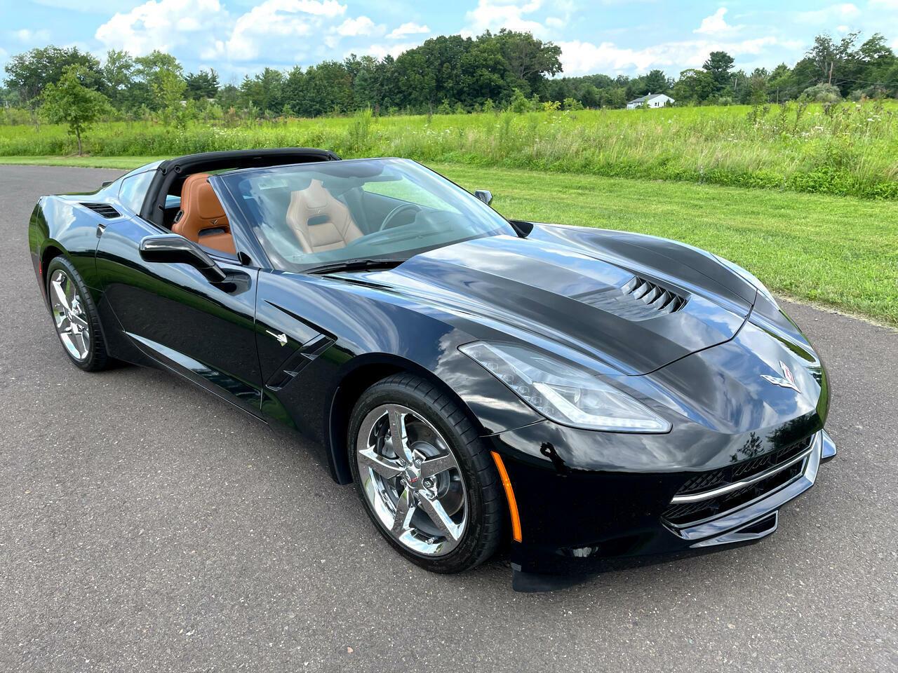 2014 Black Chevrolet Corvette Coupe 3LT | C7 Corvette Photo 3