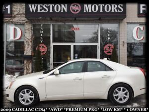 2009 Cadillac ATS CTS4*AWD*PREMIUM PKG*LOW KM*1 OWNER*