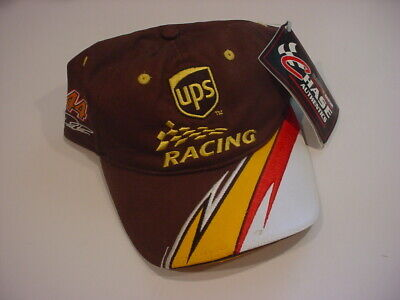 NWT UPS Racing #44 DAVID REUTIMANN CHASE AUTHENTICS HAT velcro/ONE SIZE ()