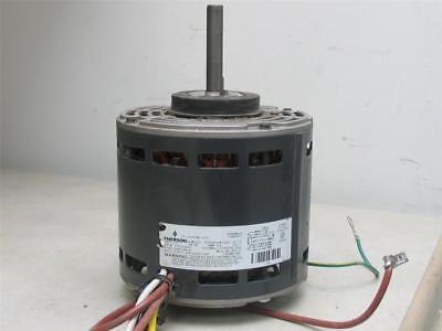 Emerson K55hxdjm-7081 Furnace Blower Motor 13hp 1075rpm 4spd 115v D340126p02