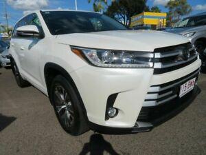 2019 Toyota Kluger GSU55R GX AWD White 8 Speed Sports Automatic Wagon Mount Gravatt Brisbane South East Preview