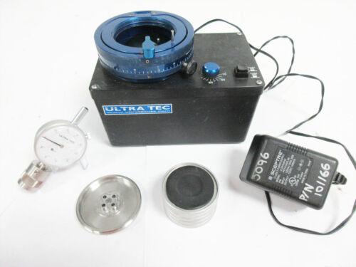 ULTRATEC 8802.4 CTC FIBER POLISHER & 4552.1 PROTRUSION GAUGE ~ ULTRA TEC
