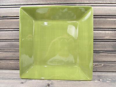 Sage Square Dinner Plate (Corsica Sage by Tabletops Unlimited Square Dinner Plate Sage Green NEW)