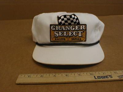 NEW Granger select chewing tobacco Nascar vtg racing snapback hat cap made USA