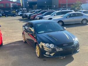 2013 FORD FALCON XR6 FG MKII AUTO BLACK NEW TYRES AND MAGS SPOILER REVRSE CAMERA IN NEW CONDITIONS 1 Lansvale Liverpool Area Preview
