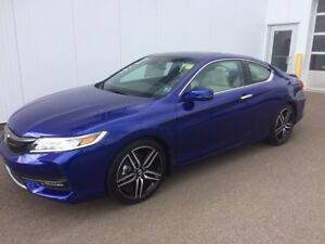 2017 Honda Accord Coupe Touring Sporty and luxurious