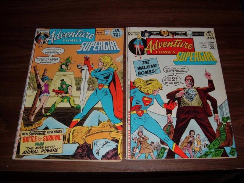 Adventure Comics 412-467----lot of 20 comic books