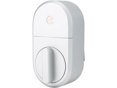 August Smart Lock, 3rd Gen Technology - Silver, Works with A