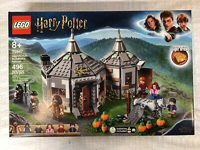 New Sealed  LEGO Harry Potter Hagrid's Hut Buckbeak's Rescue 75947