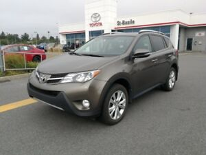 2015 Toyota RAV4 LIMITED-TOIT-CUIR-MAGS-GPS-CAMÉRA RECUL