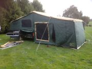 2012 GIC OFF-ROAD CAMPER TRAILER 18FT TENT EC Mount Helen Ballarat City Preview
