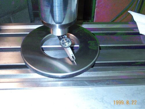 Bridgeport Type Milling Machine Tramming Ring and Table Tool Tray Limited time!