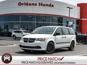 2016 Dodge Grand Caravan Canada Value Package accident free one
