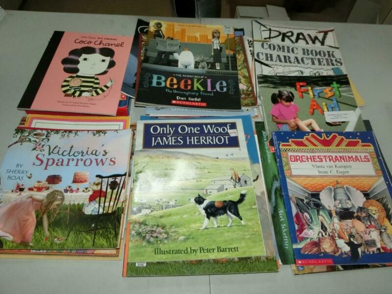 Huge Lot 52 K 1st  2nd 3rd  Grade AR Picture Books TEACHER LIBRARY
