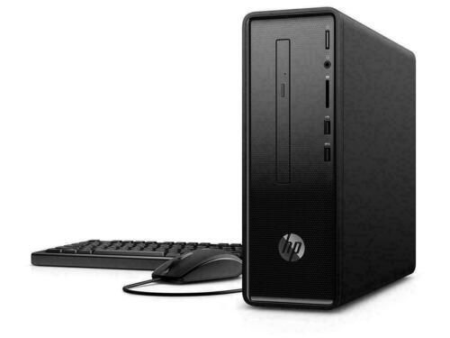 New Hp Pavilion Slim Desktop Computer 290-p0043w Intel 3.10ghz 4gb 500gb Dvdrw