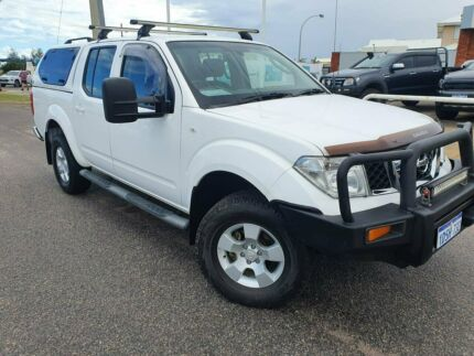 2011 Nissan Navara D40 ST White 6 Speed Manual Utility Beresford Geraldton City Preview