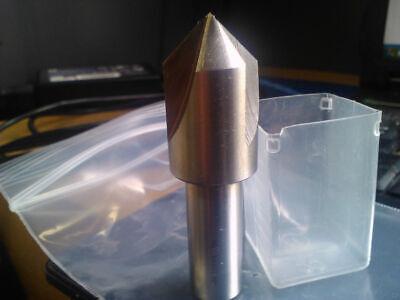 34 90 Degree High Speed Steel 3 Flute Countersink 12 Shank
