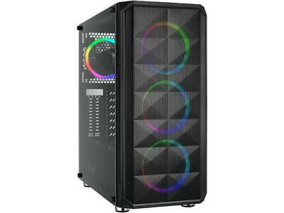Rosewill ATX Mid Tower Gaming PC Computer Case with Dual Rin