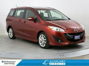 2017 Mazda Mazda5 GT, Park Assist, Leather, Keyless Entry!