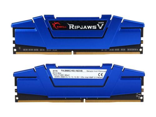 G.SKILL Ripjaws V Series 16GB (2 x 8GB) 288-Pin SDRAM DDR4 2666 (PC4 21300) Memo