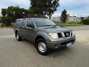 2011 Nissan Navara RX D40 Grey 5 Speed Automatic Dual Cab Wangara Wanneroo Area Preview