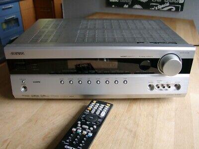 Mächtiger 5.1 Heimkino AV-Receiver Onkyo TX-SR507 mit HDMI und Fernbedienung
