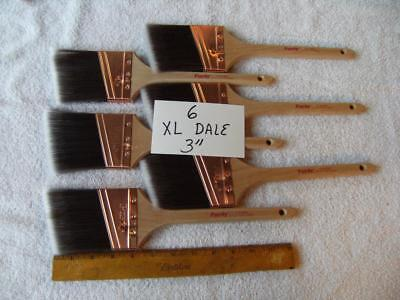 Purdy paint brush lot of  6  XL Dale  3