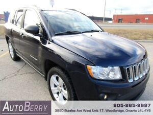 2011 Jeep Compass North 5 Speed ***CERTIFIED*** $4,999